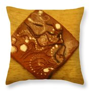 Mateka - Tile Throw Pillow