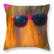 Master Of Disguise  Throw Pillow