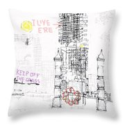 Matera  Throw Pillow