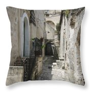 Matera Stroll Throw Pillow