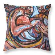 Maternidad Throw Pillow