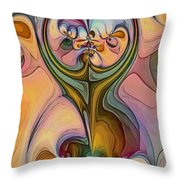 Maternity 2 Throw Pillow