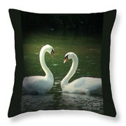 Mates For Life Throw Pillow