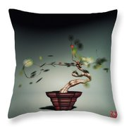 Math Bonsai 1 Throw Pillow