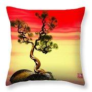 Math Pine 1 Throw Pillow by GuoJun Pan