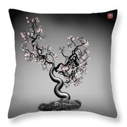 Math Tree 12 Throw Pillow by GuoJun Pan