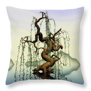 Mathematics Willow Throw Pillow