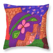 Matildas World Throw Pillow