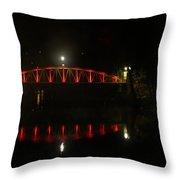 Matlock Bridge Uk Throw Pillow