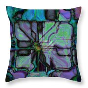 Matrices In Glass Houses Throw Pillow