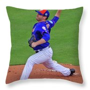 Matt Harvey Throw Pillow