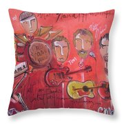 Matt Nasi Band Throw Pillow