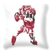 Matt Ryan Atlanta Falcons Pixel Art 5 Throw Pillow