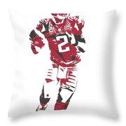 Matt Ryan Atlanta Falcons Pixel Art 6 Throw Pillow