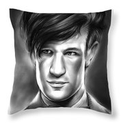 Matt Smith Throw Pillow