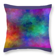 Matter And Space Throw Pillow