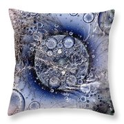 Matter From Another Perspective Throw Pillow