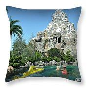 Matterhorn And The Sub Throw Pillow