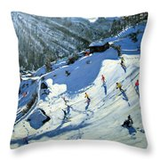 Matterhorn Throw Pillow by Andrew Macara