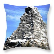 Matterhorn Peak Throw Pillow