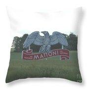 Mattoni Throw Pillow