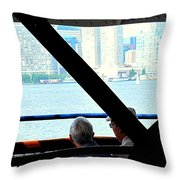 Mature Love Throw Pillow