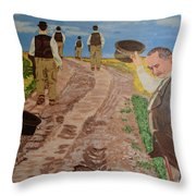 Maturity. Farewell To The Past. Waiting For Old Age. Throw Pillow