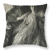 Maud Cassel Throw Pillow