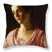 Maud Cook 1895 Throw Pillow