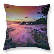 Maui Beauty Throw Pillow