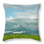 Maui Landscape Throw Pillow
