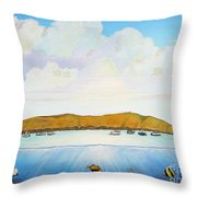 Maui Molokini Magic Throw Pillow