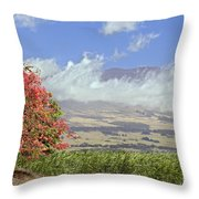 Maui Science City Throw Pillow