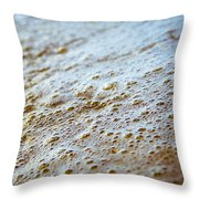 Maui Shore Bubbles Throw Pillow