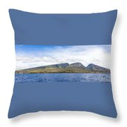 Maui - View From The Boat Throw Pillow