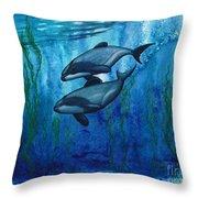Maui's Magic Throw Pillow