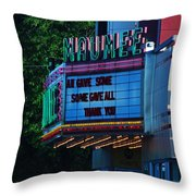 Maumee Movie Theater I Throw Pillow