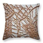 Maura And Dora - Tile Throw Pillow