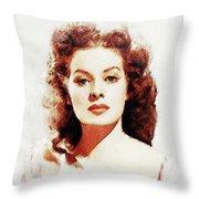 Maureen O'hara Throw Pillow