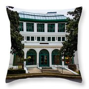 Maurice Bath House - Hot Springs, Arkansas Throw Pillow