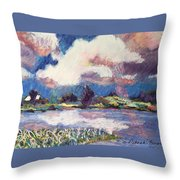 Maurice River Heaven's Delight Throw Pillow