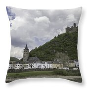 Maus Castle 14 Throw Pillow