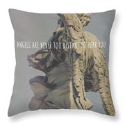 Mausoleum Protector Quote Throw Pillow