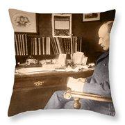 Max Planck, German Physicist Throw Pillow
