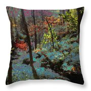 Maxfield Parrish Moment Throw Pillow