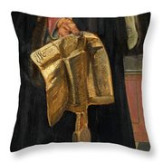 Maximilian I Holy Roman Emperor Throw Pillow