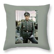 Maximilian Schell As Capt. Stransky Cross Of Iron Publicity Photo 1977 Throw Pillow