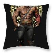 Maximus The Vampire Slayer 01 Throw Pillow