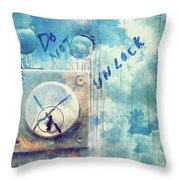 May 16 2010 Throw Pillow