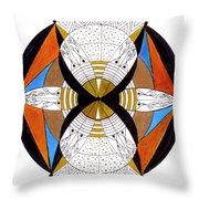 May-bee Throw Pillow